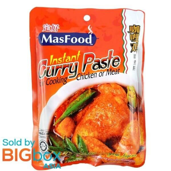 MasFood Instant Curry Chicken Paste 200g