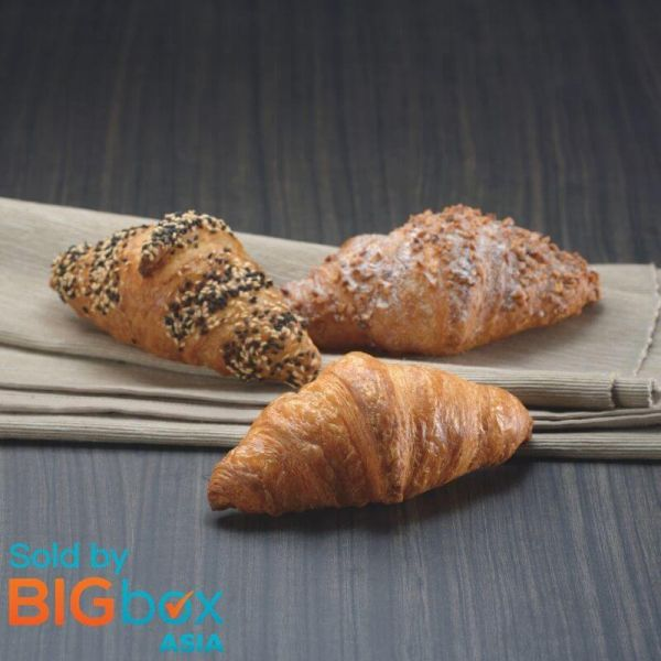 Hiestand Thaw & Serve Butter Croissant Straight 47g x 60 (1 Carton)