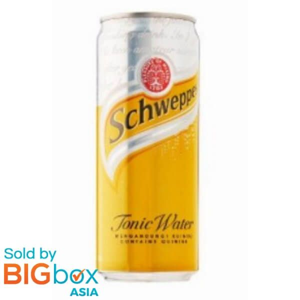 Schweppes Tonic Water Can 320ml