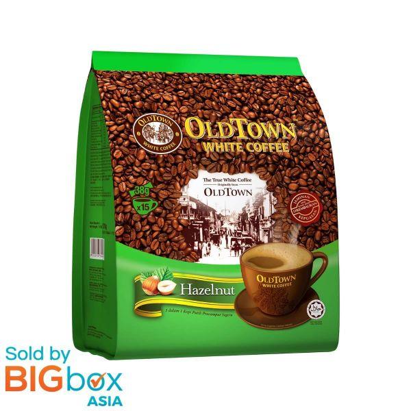 OLDTOWN White Coffee 3in1 Hazelnut 38g x 15sticks